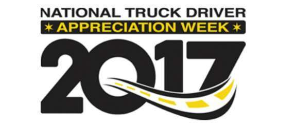 Week of appreciation for truck drivers under way
